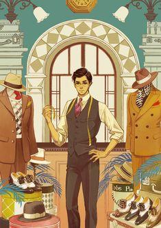 Artwork by Hiromi Matsuo Japanese Illustration, Manga Illustration, Character Illustration, Art Illustrations, Manga Art, Anime Manga, Anime Art, Character Inspiration, Character Art
