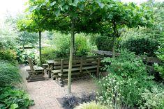 Dagplataan boven tuinset
