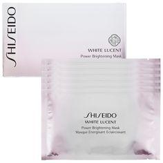 White Lucent Power Brightening Mask - Shiseido   Sephora