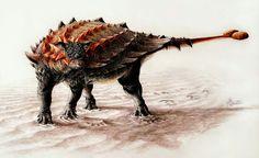 *Ziapelta sanjuanensis. Artwork by Sydney Mohr