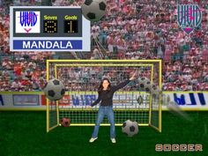 Virtual Soccer Games - Great Ideas for Bar & Bat Mitzvah Entertainment from Amazing Amusements - mazelmoments.com
