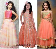 Indo western kids wedding fashion 600x529 Golden Lehnga, Wedding With Kids, Prom Dresses, Formal Dresses, Western Dresses, Half Saree, Wedding Styles, Kids Fashion, That Look
