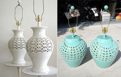 ginger jar lamp DIY
