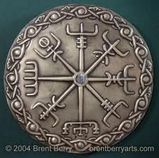 Vikings used a number of ancient symbols based on Norse mythology. Symbols played a vital role in the Viking society and were used to represent their gods, beliefs and myths. Some Viking symbols remain mysterious and their meaning is still unknown, but th Viking Symbols, Viking Runes, Ancient Symbols, Mayan Symbols, Egyptian Symbols, Vikings Art, Norse Vikings, Images Viking, Tatoo Symbol