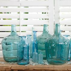 i love blue glass bottles! Does my room need another one?