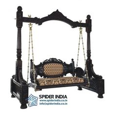 wooden carved swing, wood swing, cared swing, swing, teak swing, indoor swing, jodhpur swing, Indian swing, jhoola, jhulla,