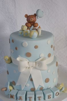 LITTLE BEAR CAKE by qualcosa di dolce, via Flickr