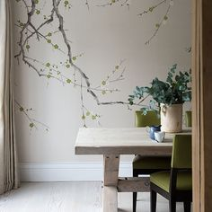 1000 images about feature walls on pinterest feature for Wallpaper for dining room feature wall