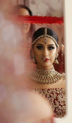 Indian Wedding Video, Indian Wedding Makeup, Wedding Videos, Bridal Hairstyle Indian Wedding, Bengali Wedding, Indian Makeup, Bridal Hairstyles, Wedding Beauty, Luxury Wedding