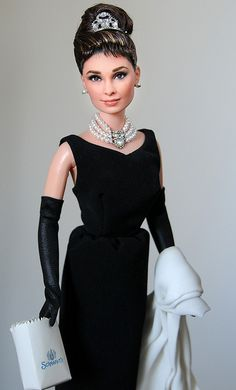 Breakfast at Tiffany's Audrey Hepburn doll.