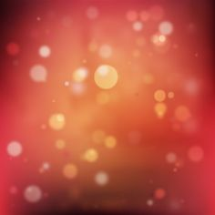red bokeh background