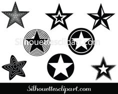 Star silhouette Stock Vector and Illustrations - Silhouette Clip Art Vector Graphics, Vector Art, Dimensional Shapes, Halloween Silhouettes, Silhouette Clip Art, Different Holidays, Creative Flyers, Famous Landmarks, Vector Design