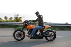 2015 February 27th. Keanu Reeves and the New KRGT-1 Motorcycle  from Arch Motorcycles. Photo By Barry Hathaway.