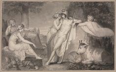 The Judgement of Paris, 1791 John Flaxman Cleveland Museum of Art