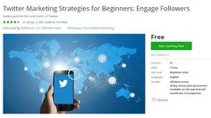 Coupon udemy - Twitter Marketing Strategies for Beginners: Engage Followers (Free) - Course Discounts & Free