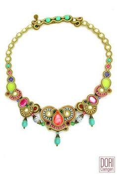 Swarovski Crystal Beads, Swarovski Pearls, Clip On Earrings, Dangle Earrings, Soutache Necklace, Necklace Sizes, Statement Earrings, Fashion Jewelry, Elegant