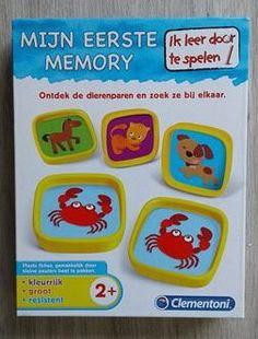 REVIEW Mijn eerste memory - Vormen en kleuren Clementoni