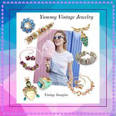 www.vintageimagine.etsy.com #vintagejewelry #vintagejewellry #etsyshop #giftsforher #vintagegifts #fashion #etsygifts #designersigned #vintagefinds #etsyvintage #PlsFollowthx #plsRePinthx #teamlove #vogueteam