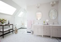 Love It or List It Vancouver- EP2036_Susan and Harvery- Tile by World Mosaic Tile in Vancouver. Designs by Jillian Harris.