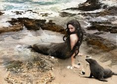 Another rendering of the Scottish Legend of the Selkie.