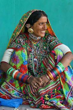 Gioielli della tribu di Gujarat