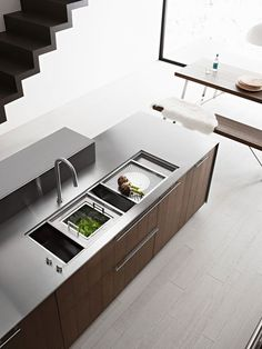 Kalea Kitchen by Italian Manufacturer Cesar