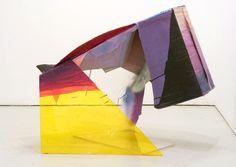 Sarah Braman : Donkey, 2006, Plexiglass, cardboard, acrylic paint, 32 x 40 x 34 in