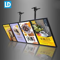 Restaurant Signage, Restaurant Themes, Deco Restaurant, Restaurant Interior Design, Signage Design, Menu Design, Food Design, Digital Menu Boards, Digital Signage