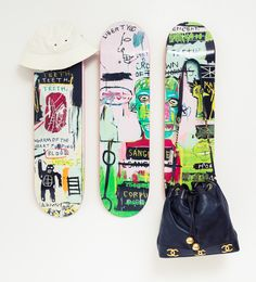 When your skateboards are also really sick art pieces.