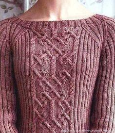 Пуловер. Описание.