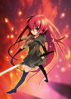 a clacca piace leggere.: shakugan no shana Shana Anime, Anime English Dubbed, Shakugan No Shana, Zero No Tsukaima, Manga, Art, Random, Stuff Stuff, Art Background