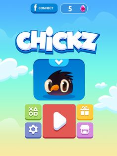 Chickz on Behance Care Bear Party, Mmorpg Games, Game Gui, Sports Graphic Design, Game Ui Design, Game Interface, Game Title, Splash Screen, Game Character Design