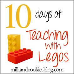 "Awesome series on teaching with Legos (actually 2 10-day series - one for younger and one for older students)! I just wish her blog were easier to navigate or at least had a list of all the series posts in one place. Clicking on the ""legos"" tag and then clicking on ""older posts"" to get to the beginning of the series was tedious, but the posts themselves are amazing!"