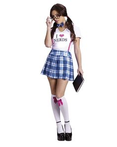 I Love Nerds Adult Womens Costume from Spirit Halloween on Catalog Spree, my personal digital mall.