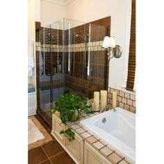 Photo about Modern luxury bathroom with glass shower and tile tub and floor. Image of indoor, decorate, construction - 3570066 Glass Shower, Bathroom, Remodel, Modern Luxury, Modern Luxury Bathroom, Home, Luxury, Elk Lighting, Modern
