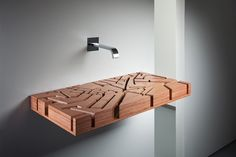 We have collected some really cool and unique bathroom sink designs for you to decorate your bathroom. Checkout 35 Unique Bathroom Sink Designs For Your Beautiful Bathroom. Unique Bathroom Sinks, Bathroom Sink Design, Wooden Bathroom, Beautiful Bathrooms, Bathroom Fixtures, Bathroom Designs, Bathroom Gadgets, Bathroom Ideas, Bathroom Pink