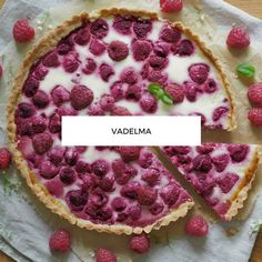 Vadelma Reseptit Sweet Pie, Party Drinks, Pepperoni, Pie Recipes, Oreo, Food And Drink, Pizza, Favorite Recipes, Sweets