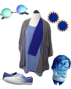 Sadness from Inside Out LuLaRoe Disney inspired outfit. Lindsay Irma and…