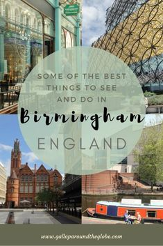 The English City That's Reinventing Itself: What to Do in Birmingham, UK – Gallop Around The Globe – Home Education Best Places To Travel, Best Cities, Places To Visit, England Uk, London England, Visit England, Travel England, Brindley Place, Birmingham England