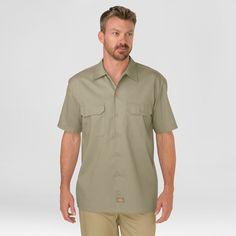 Dickies Men's Big & Tall Original Fit Short Sleeve Twill Work Shirt-
