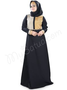 https://flic.kr/p/yf45Yn | Designer Colorful Party Wear Balqees Abaya | MyBatua.com | Style No : AY-394 Price : $26.00 Available Sizes XS to 7XL