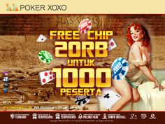 PROMO FREE CHIPS RP. 20.000 #PokerXoXo #JudiPoker #JudiDomino #JudiTerbaik #PokerTerbaik #DominoTerbaik #AgenPoker #AgenDomino #NoBot #PokerFair #DominoFair #PokerIndonesia #DominoIndonesia #PokerOnline #DominoOnline #Domino99 #FairPlay