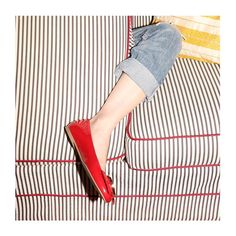 Frances 2 red patent leather