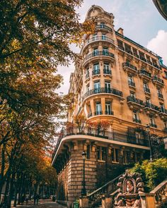 Fall in Paris 🍂✨💛 When everything tinges of gold, the leaves are all falling, and they're falling like they're falling in love with the… Paris Travel, France Travel, Travel City, World Photography, Travel Photography, Travel Pictures, Travel Photos, Bangkok, France City