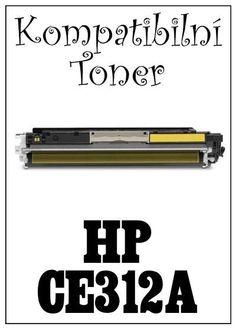 Kompatibilní toner HP 126A / HP CE312A za bezva cenu 664 Kč
