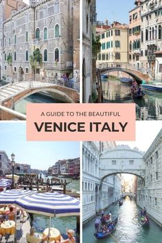 My Favorite City in the World: The Beautiful Venice Italy - This Darling World Italy Honeymoon, Italy Vacation, Italy Trip, Mexico Vacation, Italy Travel Tips, Travel Destinations, Venice Travel Guide, Travel Europe, Holiday Destinations