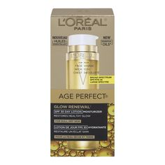 L'Oreal Paris Age Perfect Glow Renewal Facial Day Lotion SPF 30 ** Details can be found by clicking on the image. (This is an affiliate link and I receive a commission for the sales)