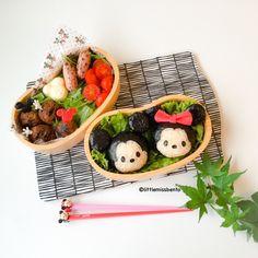 Mickey Minnie Tsum Tsum Bento