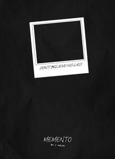 Minimalist movie poster - Memento