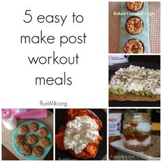 Ad: 5 easy to make post workout meals #DaisyDifference